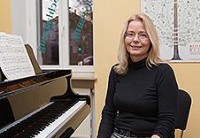 Annerose Ludwig, Klavier