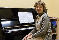 Irene Thielmann, Klavier