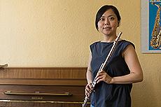 Kana Takanouchi, Flöte