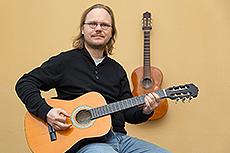 Michael Laudeley, Gitarre