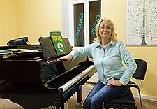 Olga Grupe, Klavier